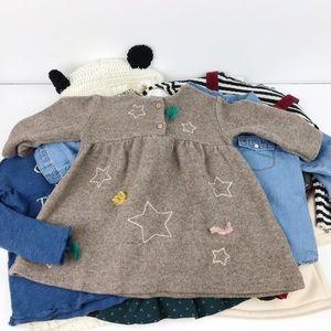 Zara Baby Girl 8 Piece Lot 12-18 month Fall/Winter